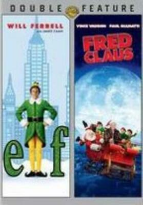 ELF / FRED CLAUS (Region 1 DVD,US Import,sealed.)