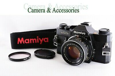Mamiya NC1000S Camera w/ Lens, Lens Cap, Filter and Strap from Japan SN: K186860