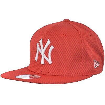 New Era Mens New York Yankees MLB 9FIFTY Snapback Baseball Cap Hat - Red - SM