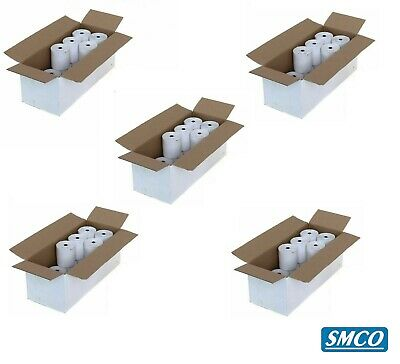100 CASIO TE-M80 TEM80 THERMAL TILL ROLLS Cash Register RECEIPT PAPER By SMCO