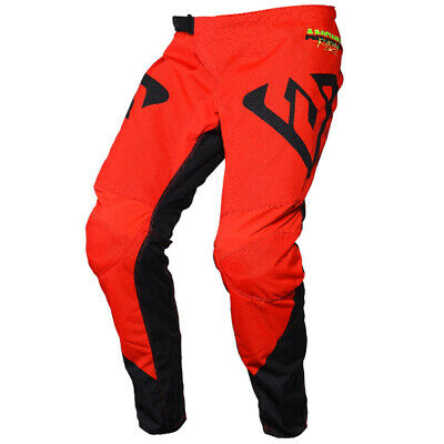 Answer Syncron Pro Glo Red Black Hyperacid Pants