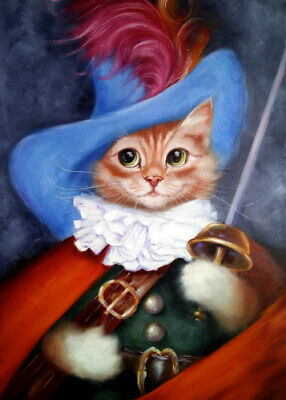 ACEO collectible art card #010010 Cat