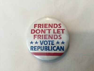 Democratic party supporter pin