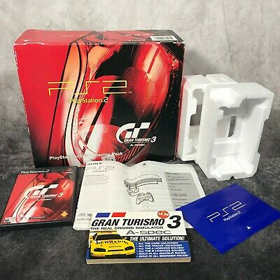 Sony PlayStation 2 PS2 Console GT3 Racing Pack *BOX ONLY* Empty Box Replacement