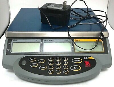 Ohaus EC6 WORKING Series Bench Tabletop Counting Scale 6000g Max