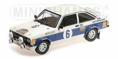 1732290-Minichamps 155778706 1:18 Ford RS 1800-Ford Motor Co Ltd #6 Vincitore Ac