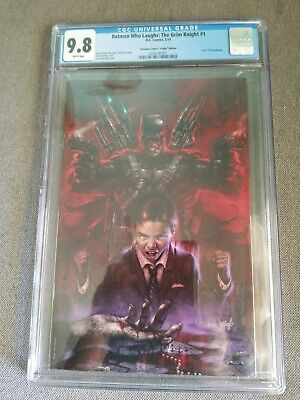 Batman Who Laughs Grim Knight #1 CGC 9.8 Parrillo Virgin Variant w/Reader & COA