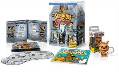 SCOOBY-DOO WHERE ARE YOU COMPLETE SERIES New Blu-ray Mystery Mansion Packaging