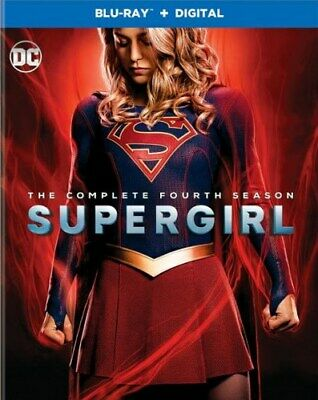 SUPERGIRL TV SERIES COMPLETE FOURTH SEASON 4 New Sealed Blu-ray