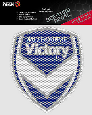Melbourne Victory A-League 4WD Car Glass See-Thu Decal Sticker Easter Gift 2020