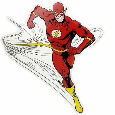 Flash Character Car Decal DC Comics Domed Finish Sticker Emblem Christmas Gift