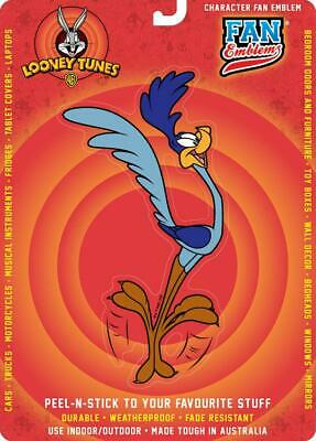 Looney Tunes Road Runner Character Domed Automotive Decal Sticker Badge Emblem