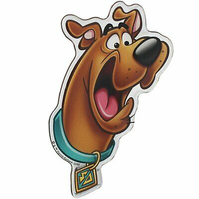 Scared Scooby-Doo Domed Logo Automotive Decal Sticker Badge Emblem