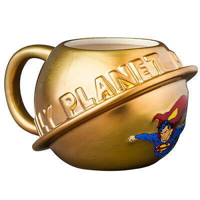 SUPERMAN Moulded Coffee Hot Chocolate Mug Cup Easter Gift 2020