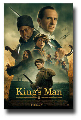"The King's Man Movie Poster - 11""x17"" 2020 Collage SameDay Ship from USA"