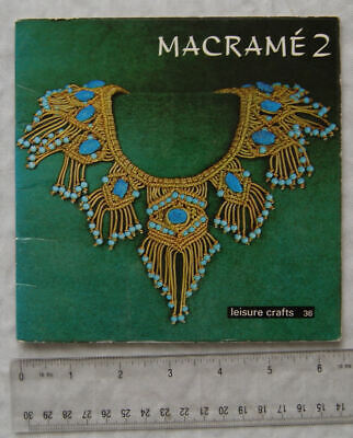 Vintage: Macrame 2, Leisure Crafts No. 36