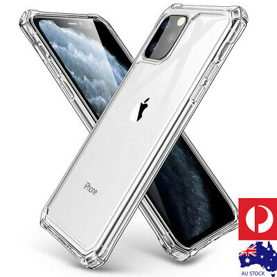 iPhone 11 Pro Max Airbag Case Clear Shockproof TPU Silicone Ultra Slim Cover