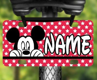 LADY BUGS MINI LICENSE PLATE Personalized Bikes Wagons Door Sign Kids