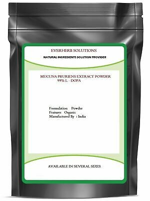 Mucuna Pruriens Extract Powder 99% L  Dopa Enhances Mood 100 % Pure Freeship
