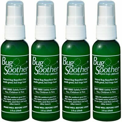 Bug Soother Bicho Repelente 59ml Natural - 4 Paquete