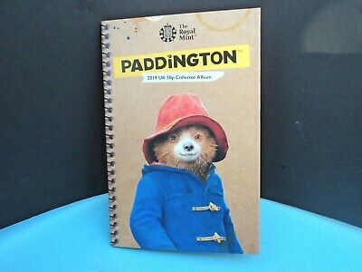 ROYAL MINT 2019 PADDINGTON BEAR COLLECTOR ALBUM AND THE TWO NEW 50p COINS