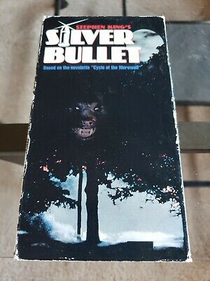 Silver Bullet - Stephen King VHS Tape