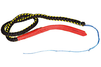 DINGO GEAR Shooting Link End, 50 cm, Mountable with Whip And Stick, Handmade of