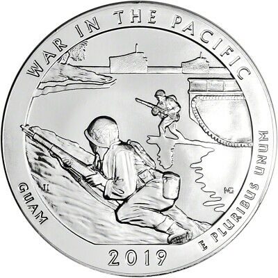 2019 ATB War in the Pacific Silver 5 oz 25C - BU