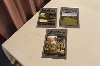 2014 CENTRAL STATES ARCHAEOLOGICAL JOURNAL 3 Issues