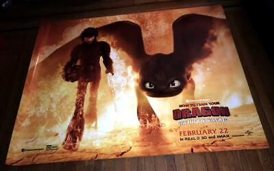How To Train Your Dragon 3 The Hidden World Movie Poster Film Print 24x36 27x40