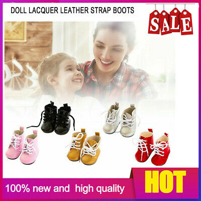 Doll Leather Shoes American Girl Doll Shoes Cute Small Shoes Strip Boots PQ