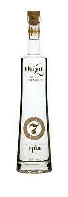 Ouzo 7 Gold Premium Edition 43% 700ml