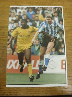 c 1990/00's Autograph(s): Sheffield Wednesday - Nigel Worthington [Hand Signed C