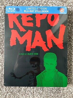 Rare Limited Edition Repo Man Blu Ray Steelbook New And Sealed Alex Cox