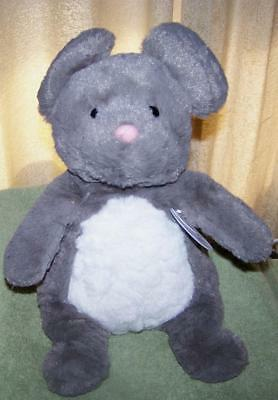 """The Manhattan Toy Company WOODLANDERS Mindy Mouse Plush 14""""H NWT"""