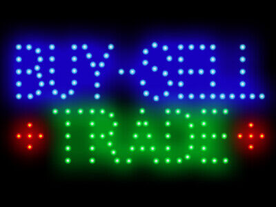 3q0226 Buy-Sell Trade Shop Led Neon Sign Display Light Sign New