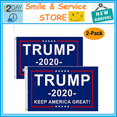 Trump 2020 Keep America Great President MAGA Make America Great 3x5Ft Flag US