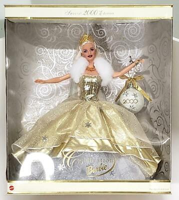 Special Edition Holiday Celebration Barbie 2000 Mattel  NEW IN BOX