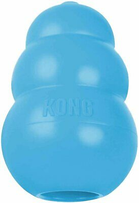 NEW KONG Blue Puppy Dog Pet Teething Aid Treat Chew Toy Assorted Sizes