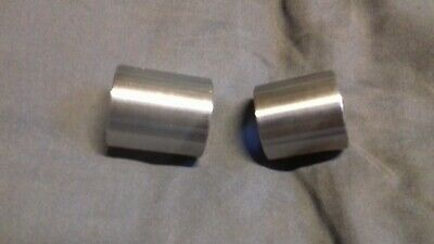 CB400f 1975-1977 - Rear Wheel Spacers - 316 Stainless