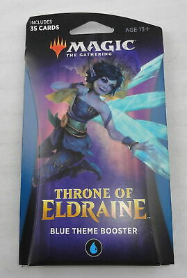 Magic The Gathering Throne of Eldraine Blue Theme Booster Pack