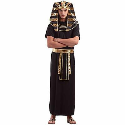 Egyptian Pharaoh Men's Halloween Costume | Ancient King TUT Style Outfit