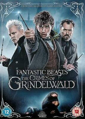 Fantastic Beasts: The Crimes of Grindelwald DVD (2018)