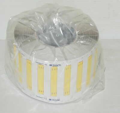 Brady Heatex THT 620337 HCM-75X10-B7643-YL Yellow Cable Marker Labels - x1000