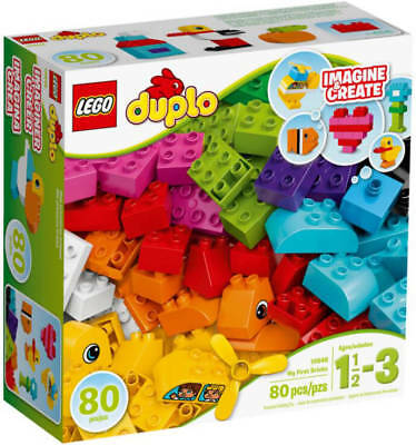 Lego Duplo 10848 My First Building Bricks Steinebox 1½ to 3 Years New ✔️