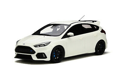 1:18 Otto Mobile Ford Focus Rs MK 3 white OT730 NEW SHIPPING FREE Worldwide