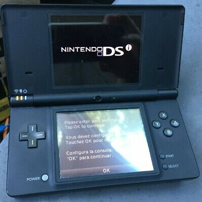 Black Nintendo DSI works