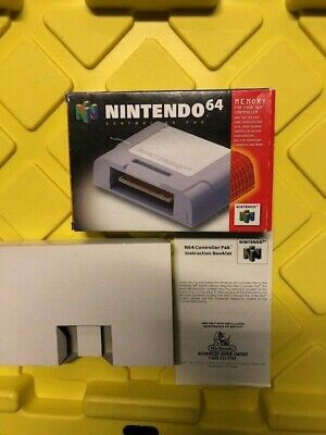 Nintendo 64 Controller Pak Box Only For N64 (No Controller Pack)