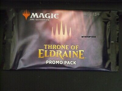 Magic The Gathering Throne Of Eldraine Promo Booster Pack Sealed Live