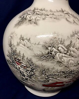 UF Collection: Exquisite Chinese Porcelain Vase W/ Hand Painted Mark